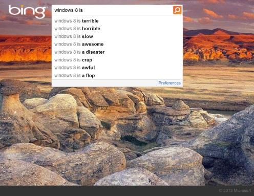 bing windows 8 is ... search (2)