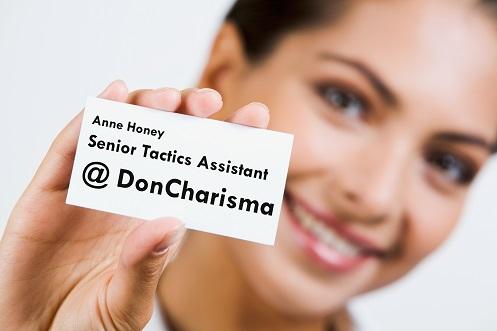 doncharisma, don charisma, Bullshit Job Title
