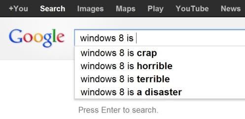 google.ca windows 8 is ... search