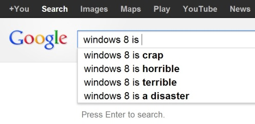 google.ca windows 8 is ... search