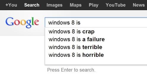 google.ch windows 8 is ... search