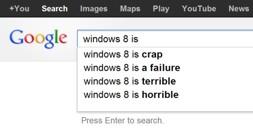 google.ch windows 8 is ... search