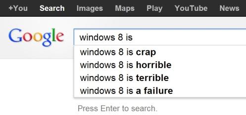google.com.au windows 8 is ... search