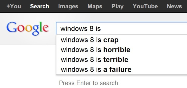 doncharisma, don charisma, google.com.au windows 8 is ... search