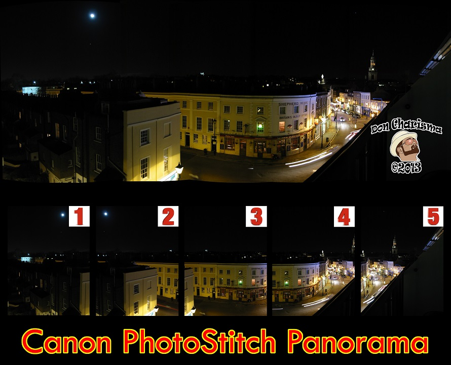 DonCharisma Canon PhotoStitch Panorama