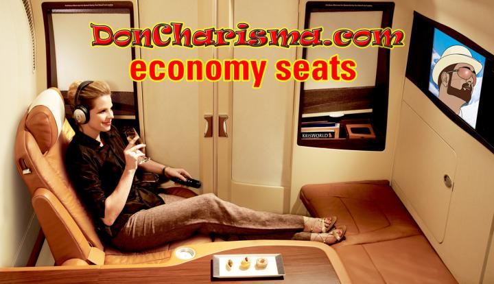 Don Charisma, DonCharisma.com Economy Seats