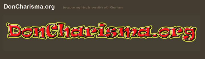 doncharisma.org, don charisma - colour problem