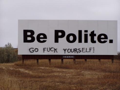 Doncharisma, Don Charisma, Always Be Polite!