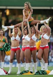 cheerleaders yay!
