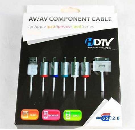 DonCharisma.com generic apple component av cable