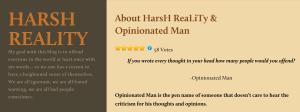 DonCharisma.com, Don Charisma, Opinionated Man