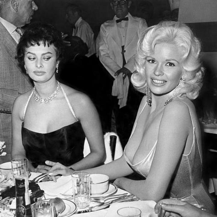 DonCharisma.com, Don Charisma, Sofia Loren & Jane Mansfield