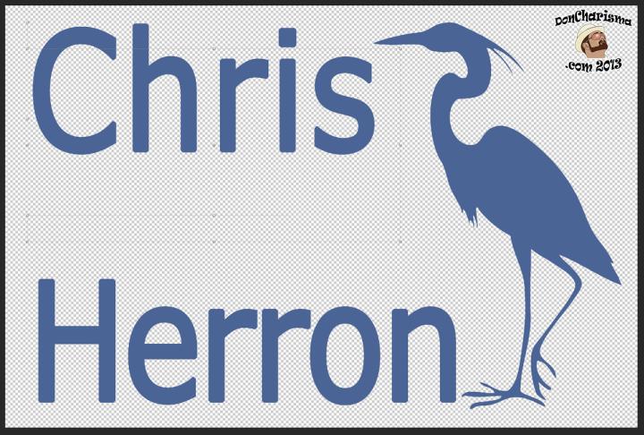 DonCharisma.com, Don Charisma, Chris Herron Chars Adjusted