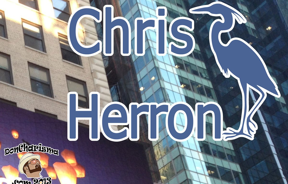 DonCharisma.com Chris Herron Logo