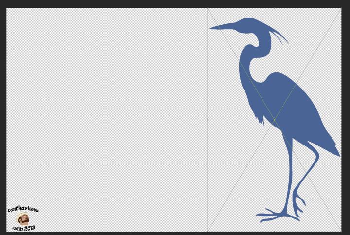DonCharisma.com Heron Into Photoshop