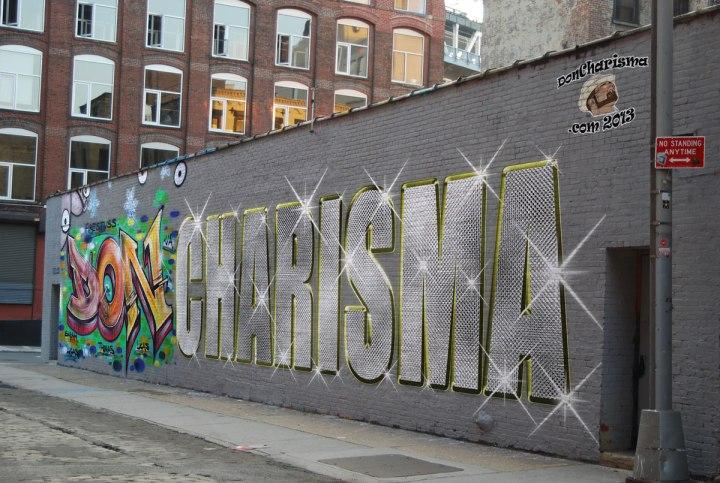 DonCharisma, DON CHARISMA, Graffiti/Bling Wall