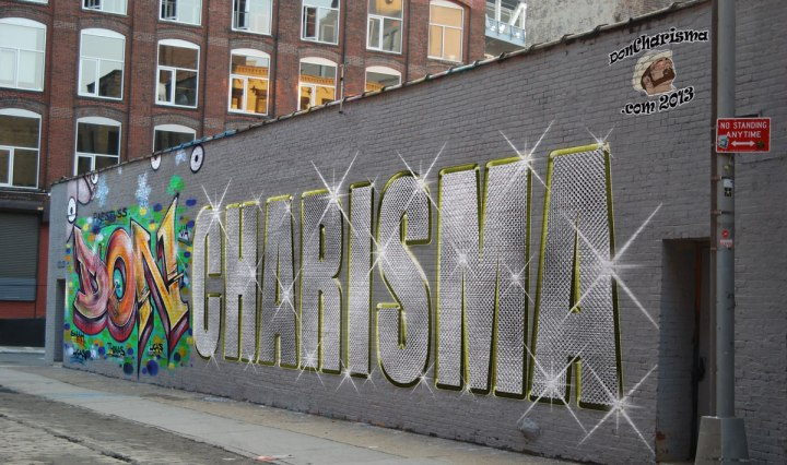 DonCharisma, DON CHARISMA, Graffiti/Bling Wall