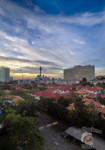 DonCharisma.org Balcony Panorama - Big Sky Evening PTGui-(4w-x-2h-P)