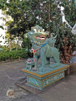DonCharisma.org Chinese Dog And Crane Bird - Big Buddha Hill
