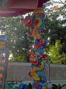 DonCharisma.org Chinese Shrine Dragon Pillar 2 - Big Buddha Hill