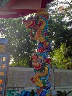 DonCharisma.org Chinese Shrine Dragon Pillar 2 - Big Buddha Hill