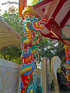 DonCharisma.org Chinese Shrine Dragon Pillar 3 - Big Buddha Hill