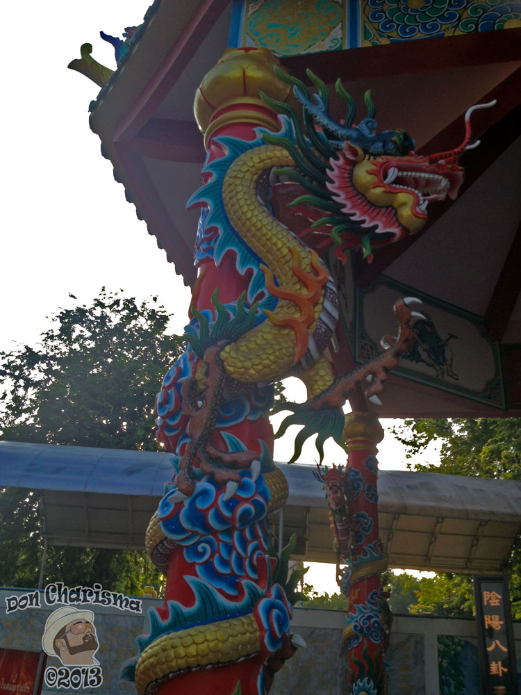 DonCharisma.org Chinese Shrine Dragon Pillar 4 - Big Buddha Hill