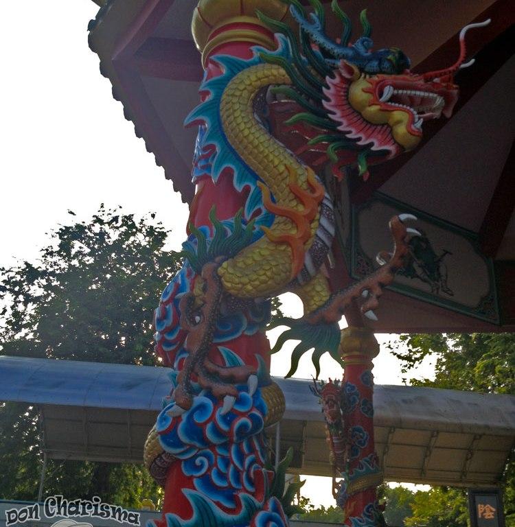 DonCharisma.org Chinese Shrine Dragon Pillar 4 - Big Buddha Hill