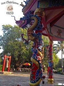 DonCharisma.org Chinese Shrine Dragon Pillar - Big Buddha Hill