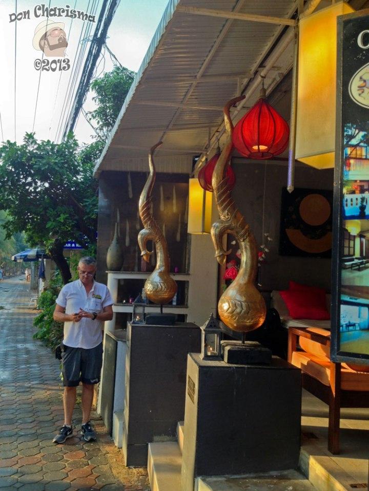 DonCharisma.org Copper Vases Restaurant 2