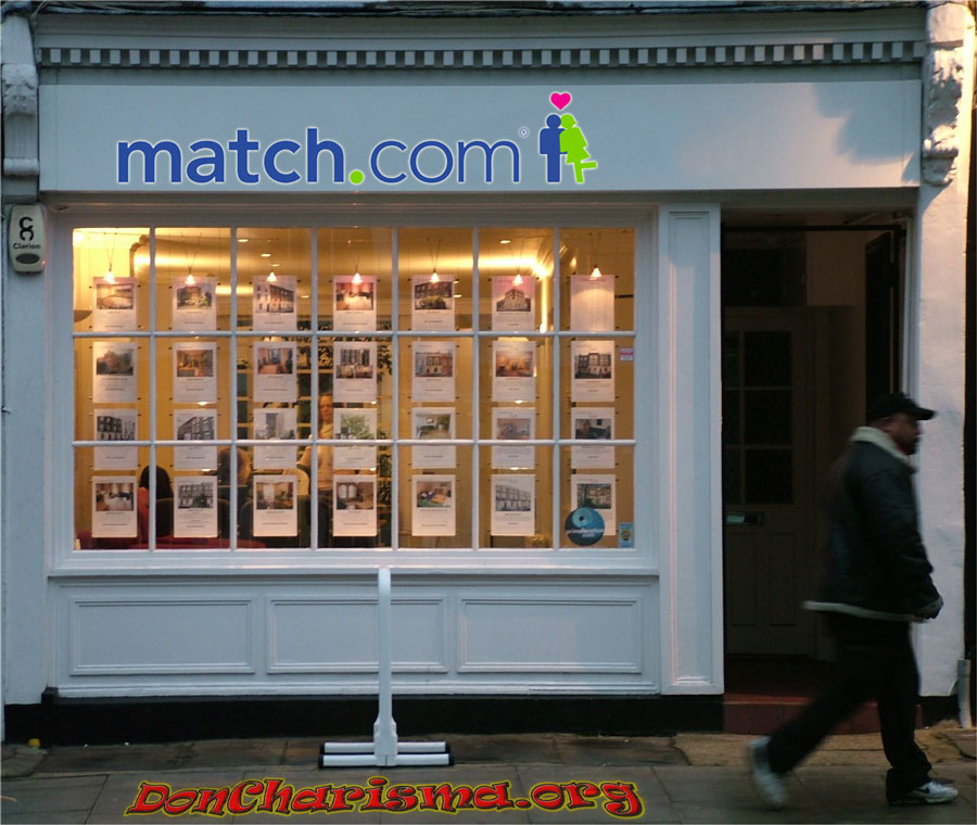 DonCharisma.org Dating Website vs Letting Agent