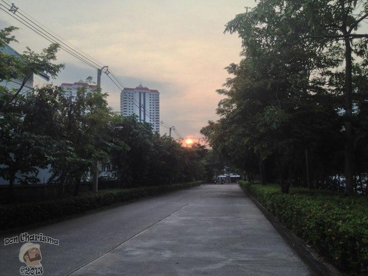 DonCharisma.org Driveway Sunset HDR
