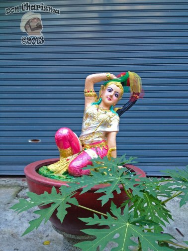 DonCharisma.org Garage Door Princess - Big Buddha Hill
