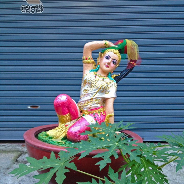 DonCharisma.org Garage Door Princess - Big Buddha Hill