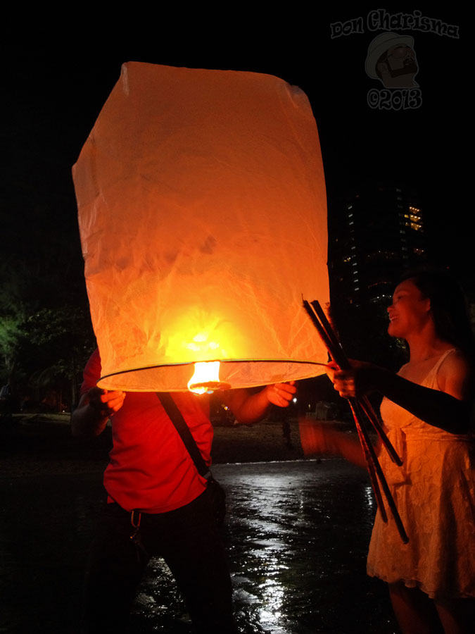 DonCharisma.org Loy Catong How To Do A Sky Lantern 2