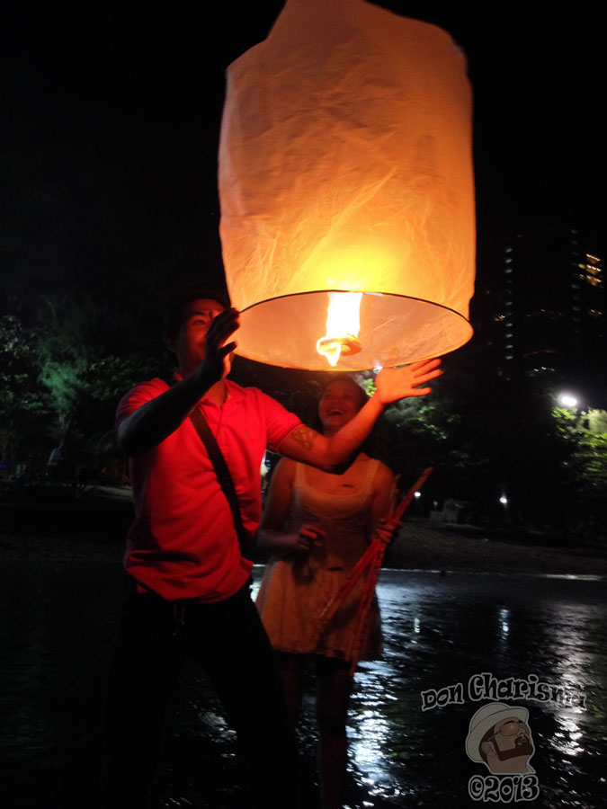 DonCharisma.org Loy Catong How To Do A Sky Lantern 3