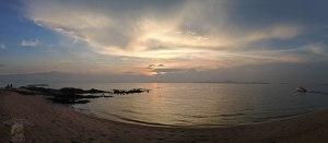 DonCharisma.org Sunset Beach Panorama