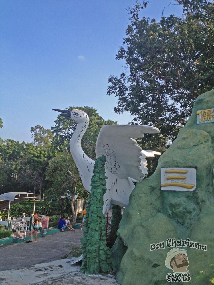 DonCharisma.org Swan - Big Buddha Hill