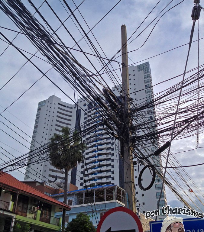 DonCharisma.org Thai Power Cables And Tower-Building
