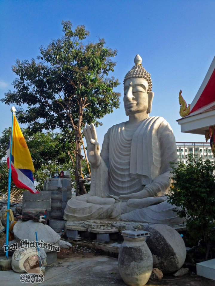 DonCharisma.org The Buddha Round The Back - Big Buddha Hill