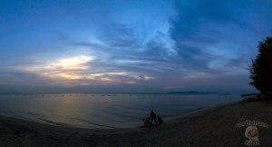 DonCharisma.org Beach Sunset Panorama Experimental iPhone Double Pano Microsoft ICE