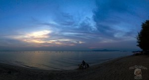 DonCharisma.org Beach Sunset Panorama Experimental iPhone Double Pano Microsoft ICE