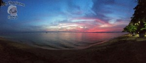 DonCharisma.org Beach Sunset Panorama Experimental iPhone Double Pano PTGUI