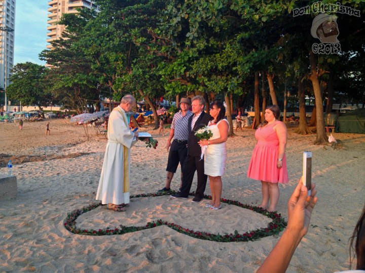 DonCharisma.org Beach Wedding