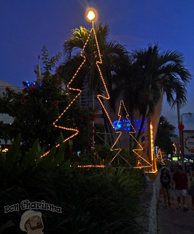 DonCharisma.org Christmas Night Trees