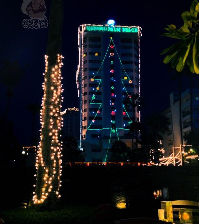 DonCharisma.org Christmas Tree On Tower Night 1P
