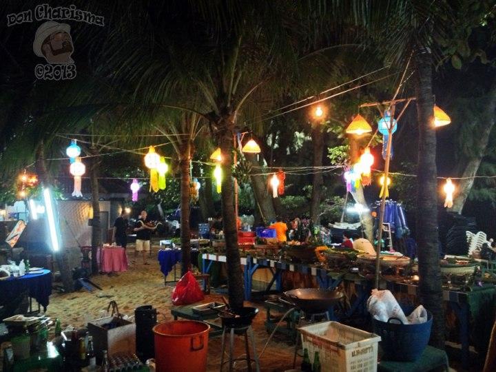 DonCharisma.org Colourful Al Fresco Kitchen Loy Catong Festival