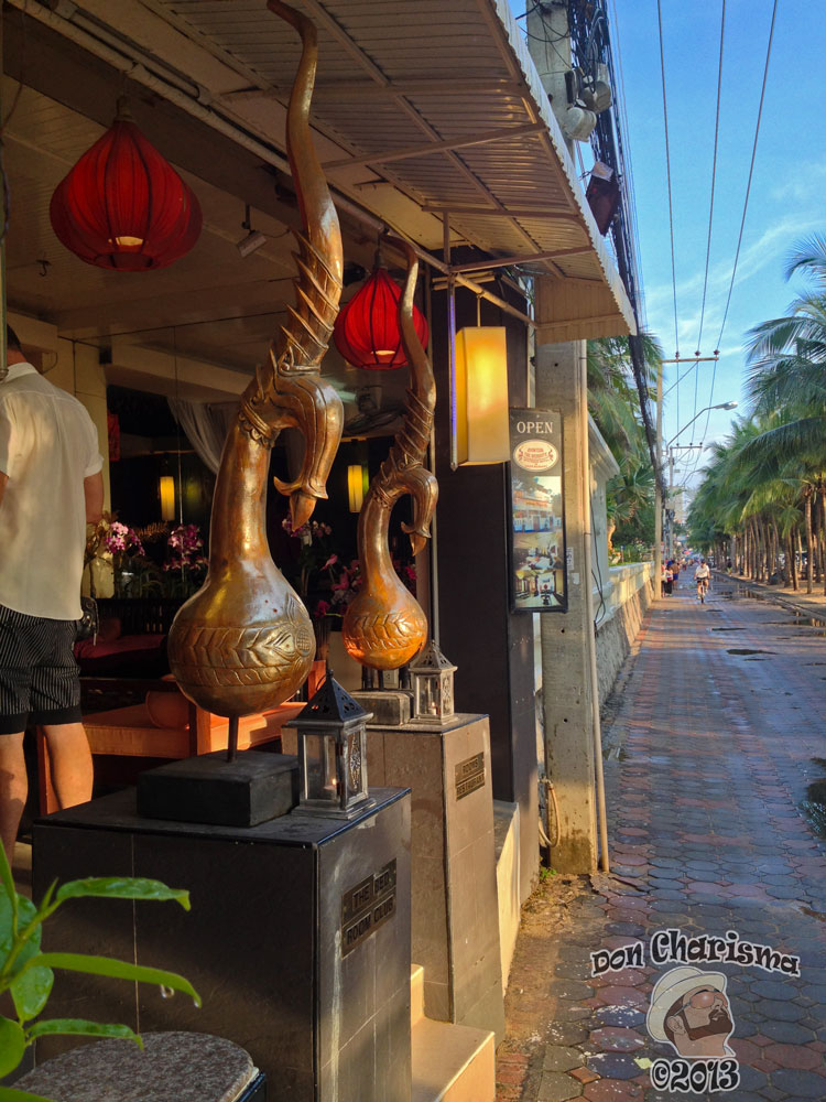 DonCharisma.org Copper Vases Restuarant