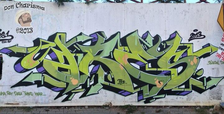 DonCharisma.org Graffiti Walkorama Main
