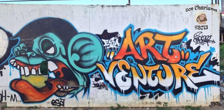 DonCharisma.org Graffiti Wall Walkorama